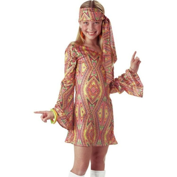 California Costumes Other - Disco Dolly Large Child's Costume [Large]